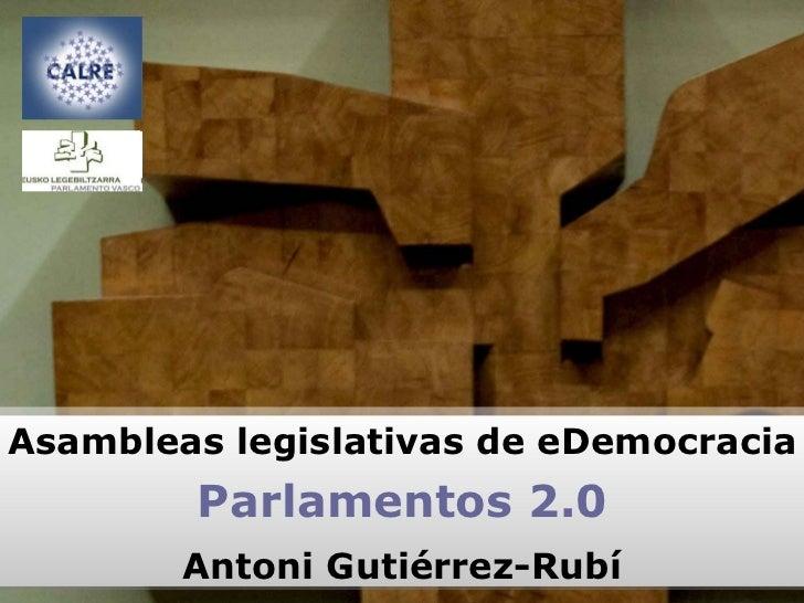 Parlamentos 2.0