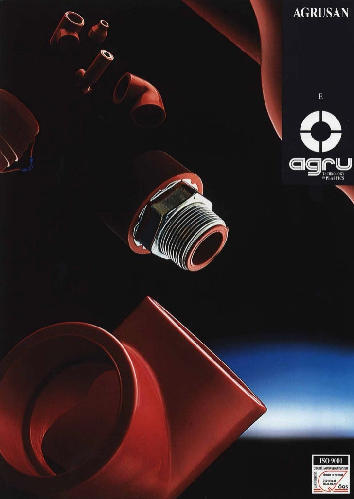 Agru agrusan the red thread for the heating systems and sanitary installation