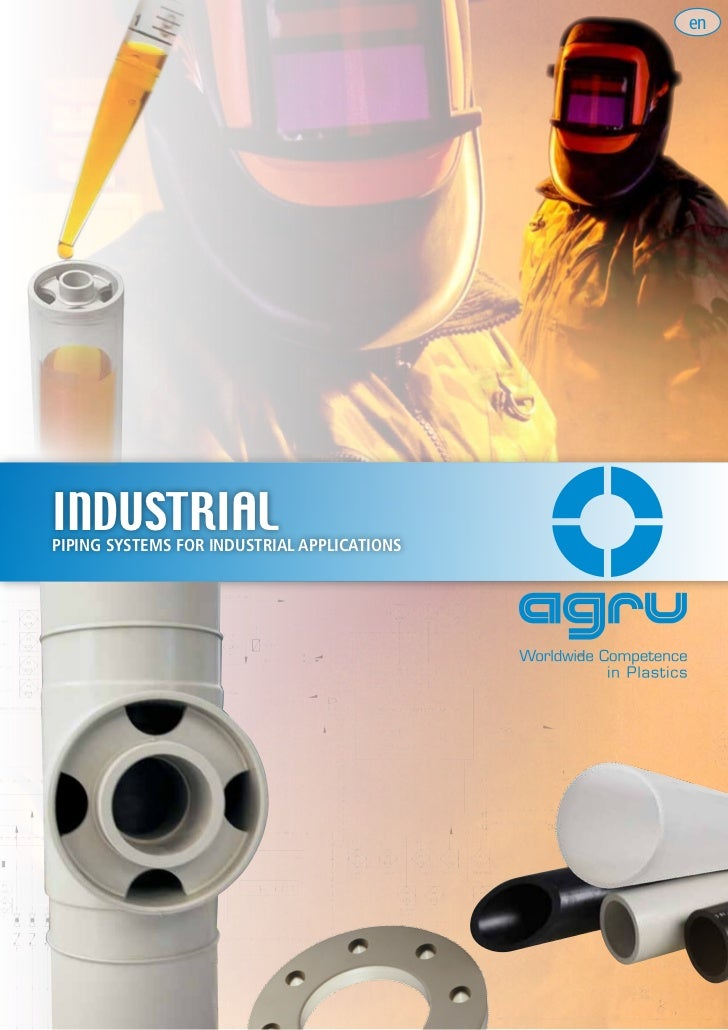 Agru industrial piping systems for industrial application