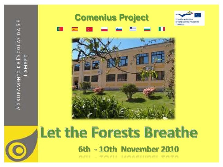 Comenius Project<br />Let the Forests Breathe<br />6th  - 1oth November 2010<br />