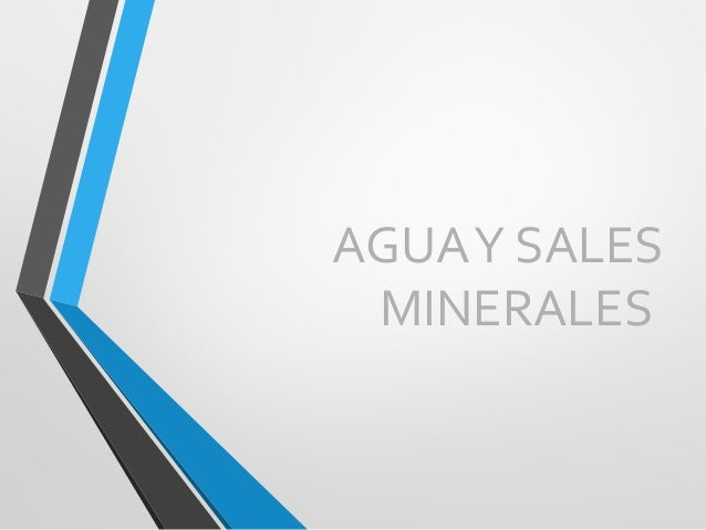 AGUAY SALES MINERALES
