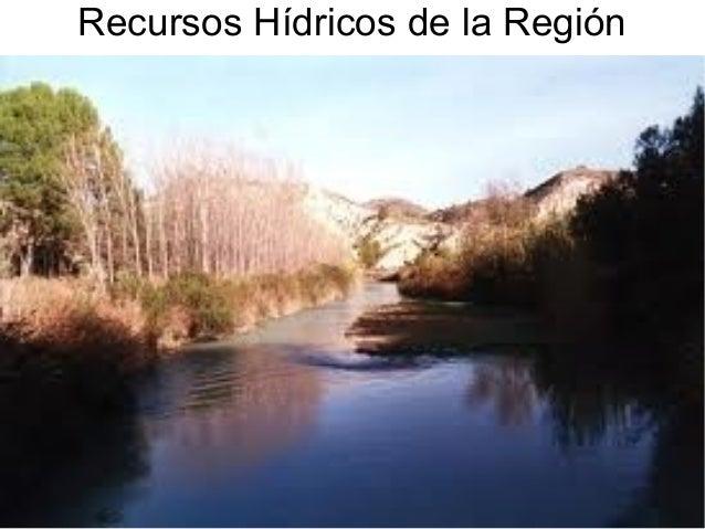 Recursos Hídricos de la Región