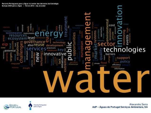 Agua e energia   ppa eip - 16nov2012