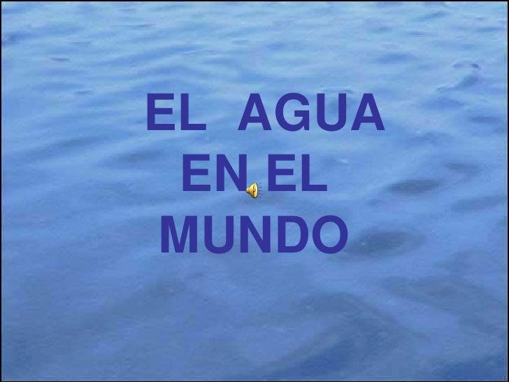 Agua En El Mundo Victor
