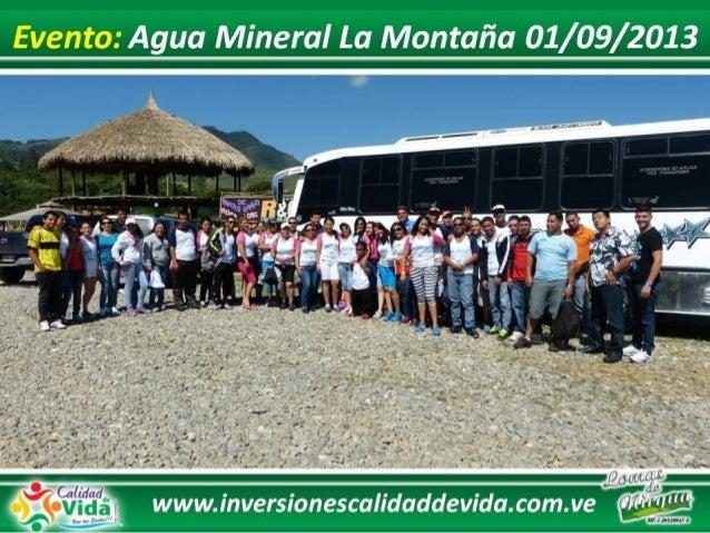 Agua Mineral la Montaña 01 09 2013