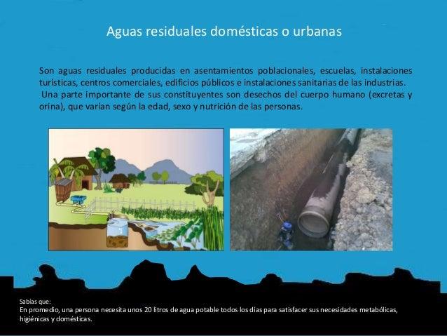Aguas residuales dom sticas e industriales for Depuradora aguas residuales domestica