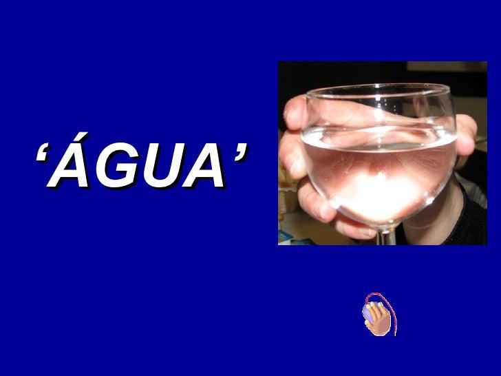 Agua X Coca Cola
