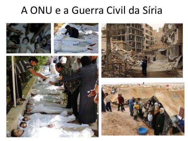 A ONU e a Guerra Civil da Síria