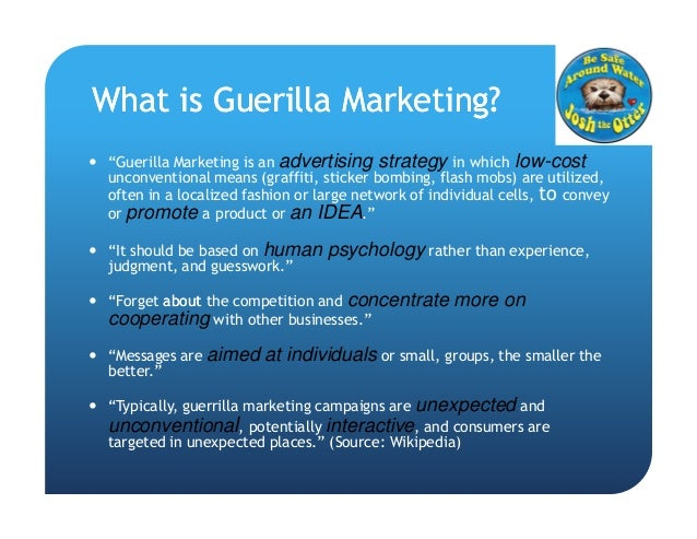 impacts of guerrilla marketing on consumer