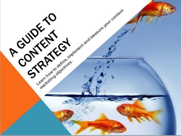 A guide to content strategy