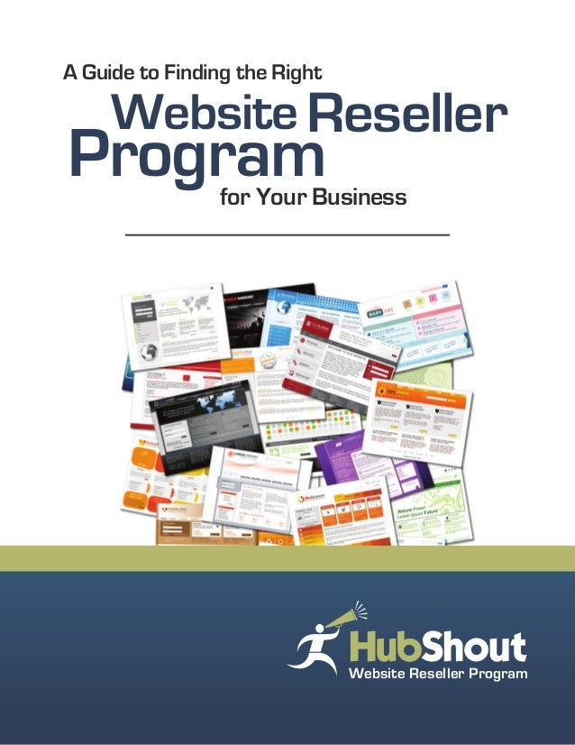 Website for Your Business A Guide to Finding the Right Program Reseller Website Reseller Program