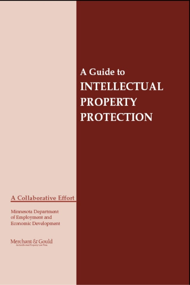 91016 cover.qxd   1/17/06   3:34 PM   Page 3   A Guide to Intellectual Property Protection is available   without charge f...