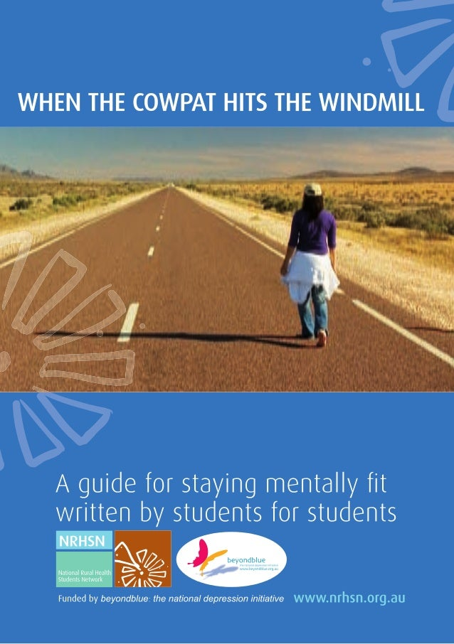 A guide to staying mentally fit   a guide for students written by students