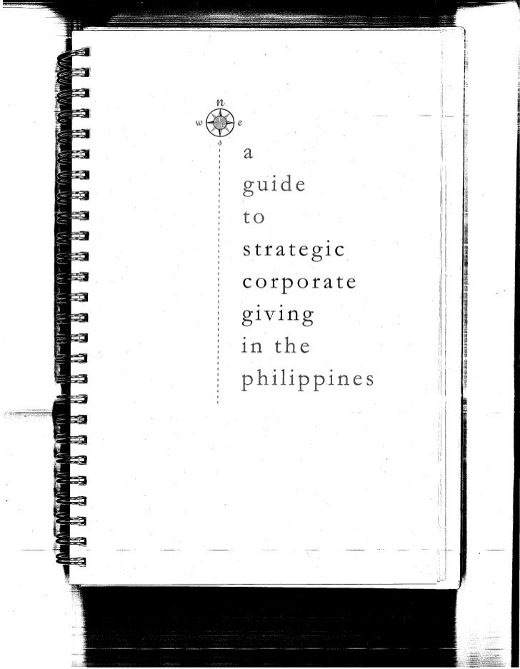 A Guide to Strategic Corporate Giving in the Philippines