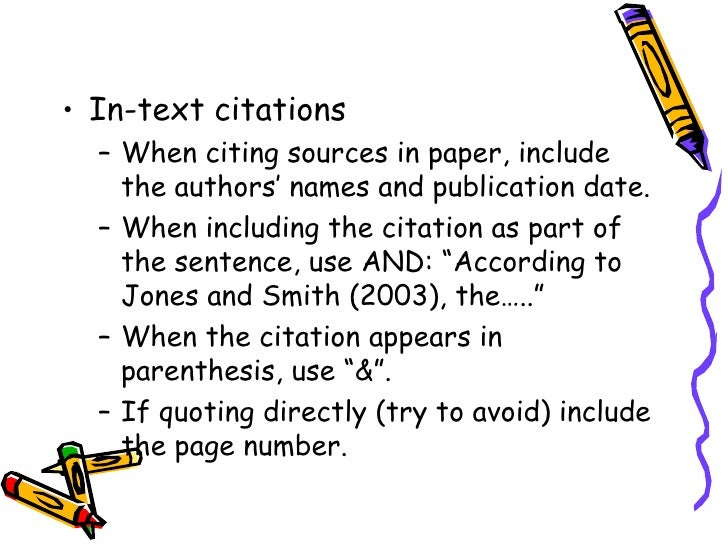 thesis citing sources Basics of citing websites when listing internet sources in your references or works cited, the most important thing to note: mla style does not require the use of urls in citations of internet sources.