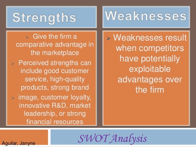 a swot analysis if the unilever company