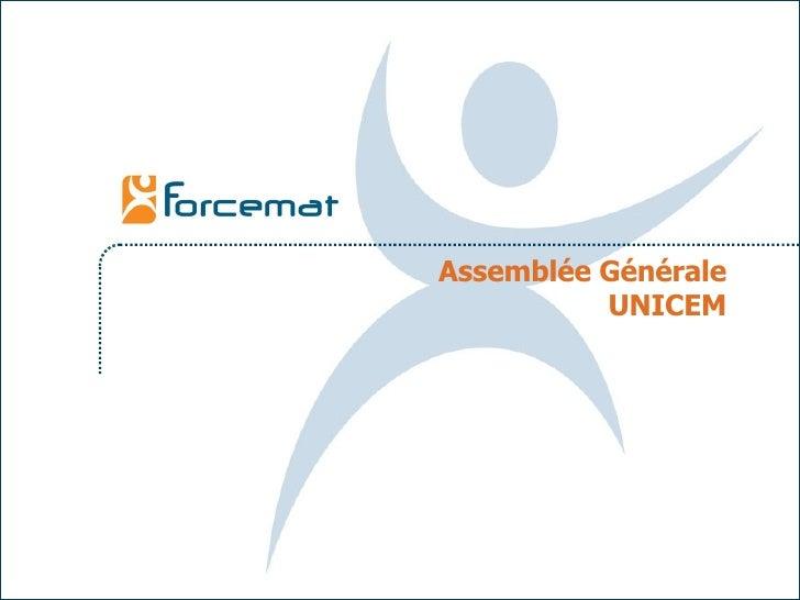 Assemblée Générale UNICEM