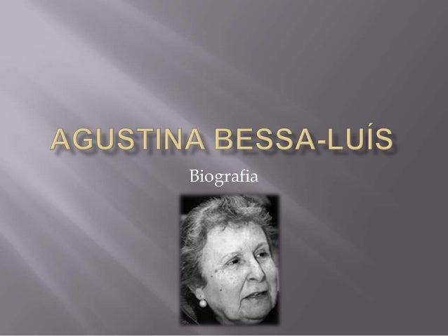 Agustina bessa luís