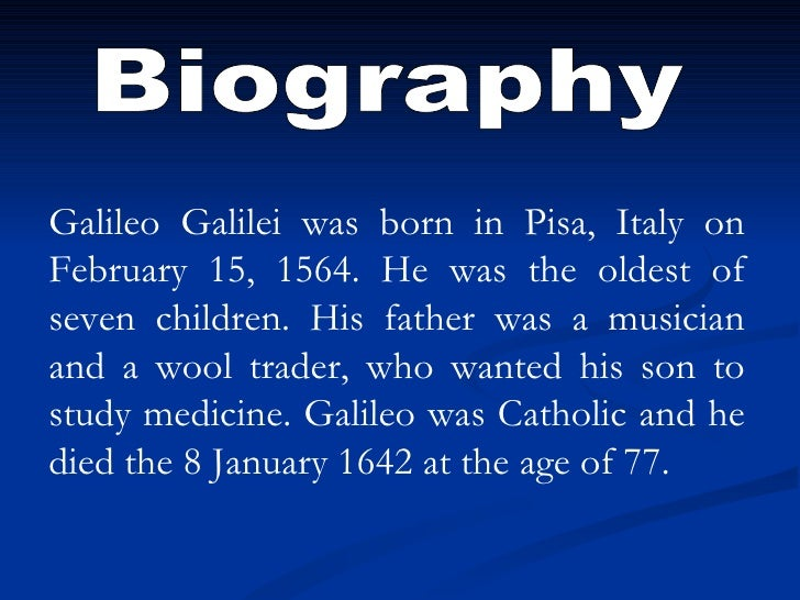 a biography of galileo galilei and his contribution to science Italian astronomer galileo galilei made a number of inventions and discoveries that remain important to astronomy and science in general today.