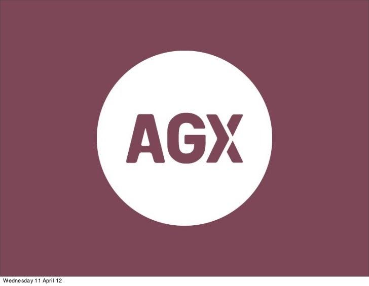 AGX Social Mythbusters workshop 2 : intro in social media marketing