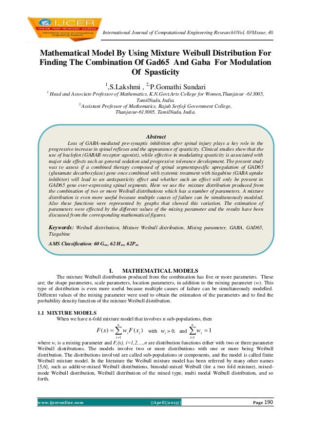 International Journal of Computational Engineering Research  Vol, 03  Issue, 4  www.ijceronline.com   April  2013   Page 1...