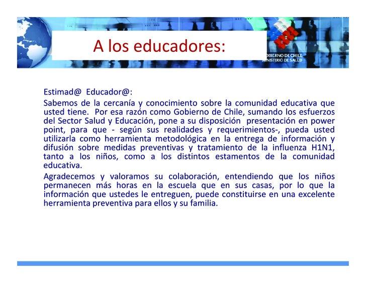 Aloseducadores:  Estimad@Educador@: Sabemos de la cercanía y conocimiento sobre la comunidad educativa que ...