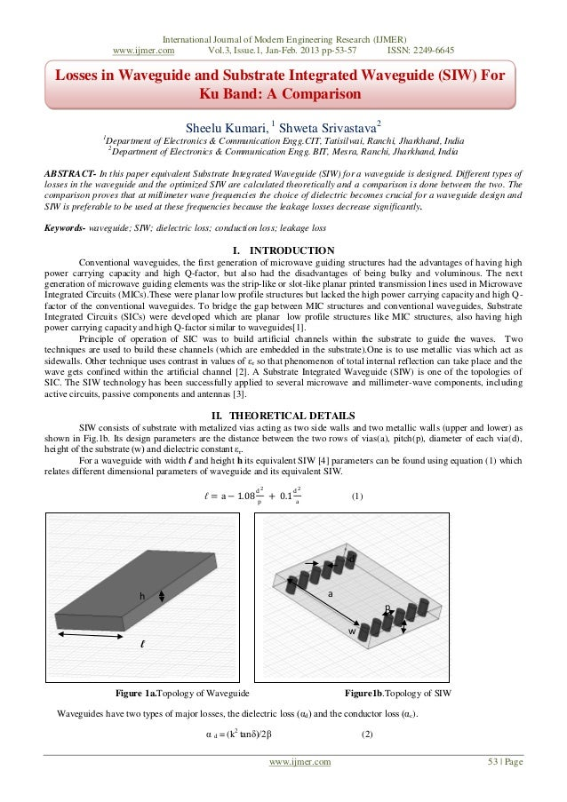 International Journal of Modern Engineering Research (IJMER)                    www.ijmer.com          Vol.3, Issue.1, Jan...