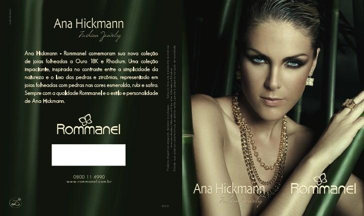Catálogo Rommanel Ana Hickmann