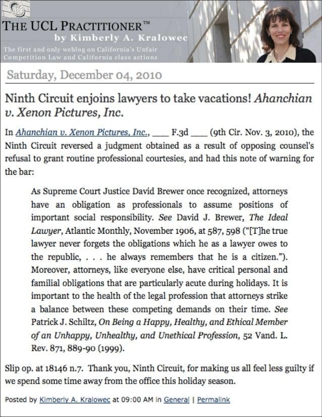 Ahanchian v xenon legal precedent victory press 10-3-10