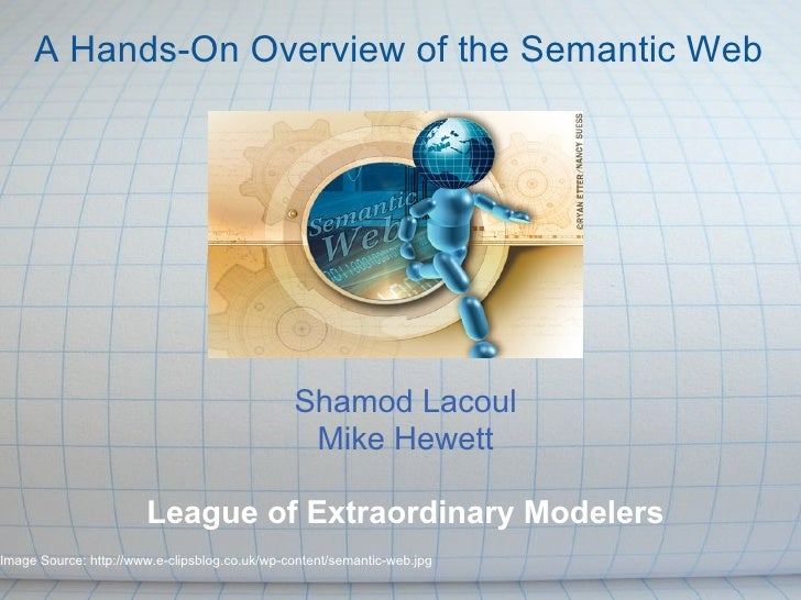 A Hands On Overview Of The Semantic Web