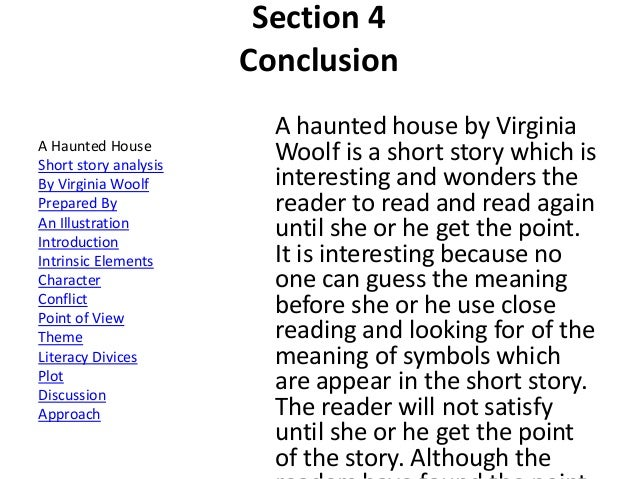 Description Of A Haunted House Essay