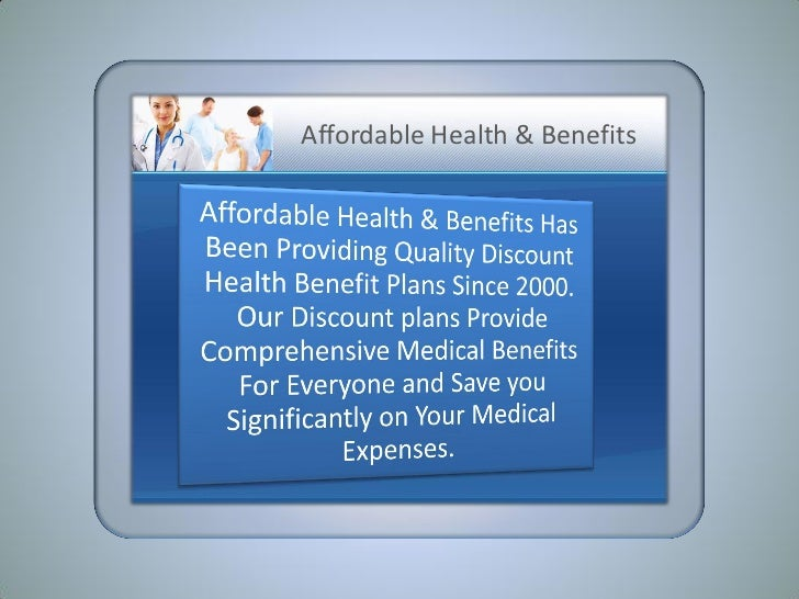 Affordable Health & Benefits