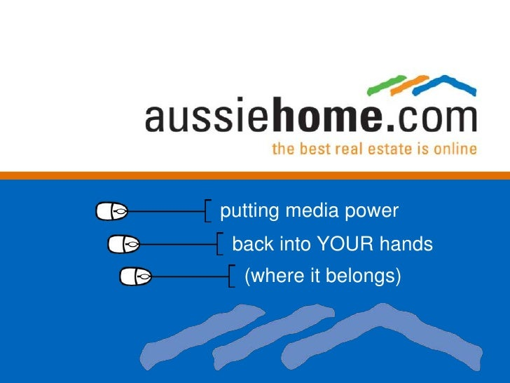 putting media power<br />back into YOUR hands<br />(where it belongs)<br />