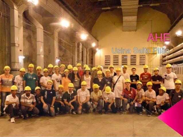 A Usina Hidrelétrica de Salto Pilão possui área alagada de somente 0,15 quilômetros quadrados. Como uma barragem de 3 metr...