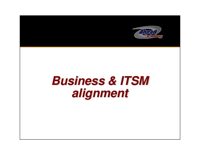 Business and ITSM on the same page at last!  ITIL, TOGAF and COBIT working together