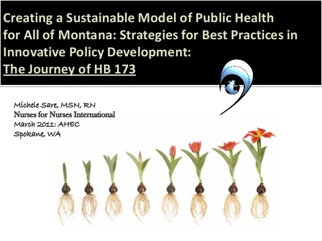 Creating a Sustainable Model of Public Health for All of Montana: Strategies for Best Practices in Innovative Policy Devel...