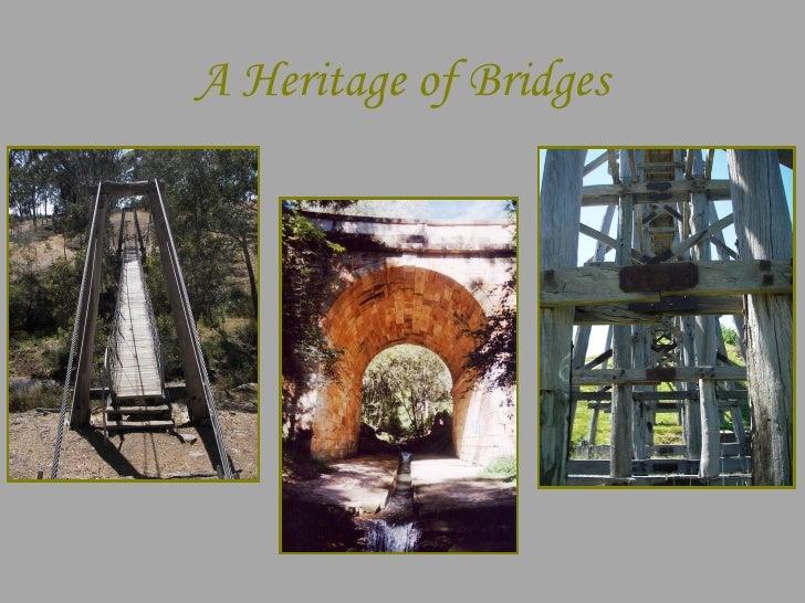 A Heritage Of Bridges