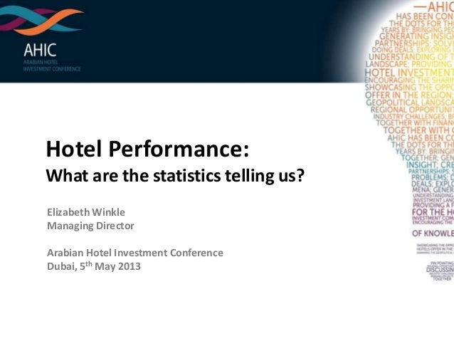 Hotel Performance: What are the statistics telling us? Elizabeth Winkle Managing Director Arabian Hotel Investment Confere...