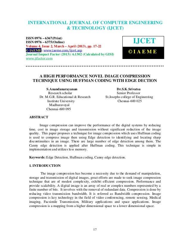 INTERNATIONALComputer Engineering and Technology ENGINEERING  International Journal of JOURNAL OF COMPUTER (IJCET), ISSN 0...