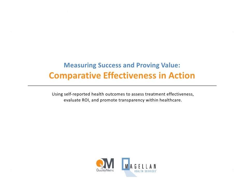 QualityMetric and Magellan Presentation at AHIP Conference 2009