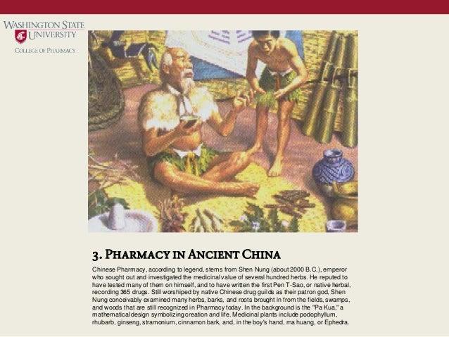 History of pharmacy