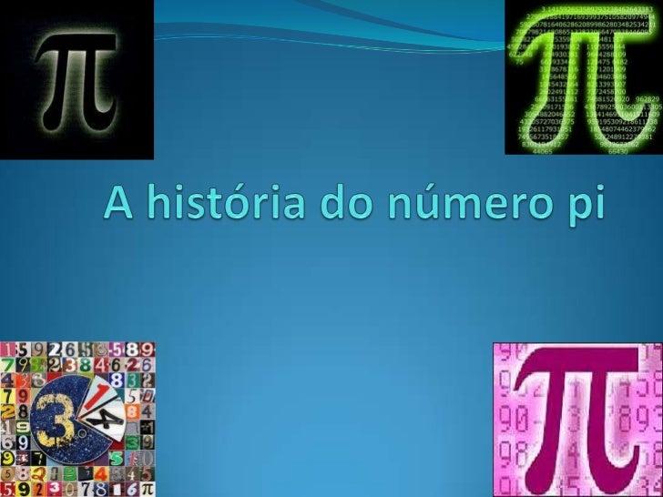 A história do número pi