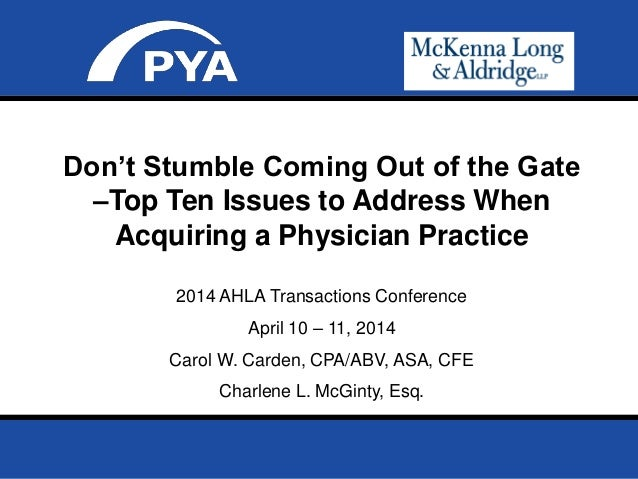 Page 0 Prepared for 2014 AHLA Transactions Conference April 10 – 11, 2014 2014 AHLA Transactions Conference April 10 – 11,...