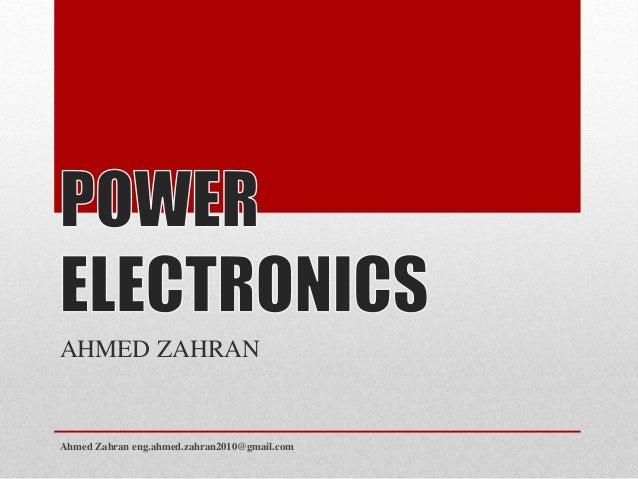 AHMED ZAHRAN  Ahmed Zahran eng.ahmed.zahran2010@gmail.com