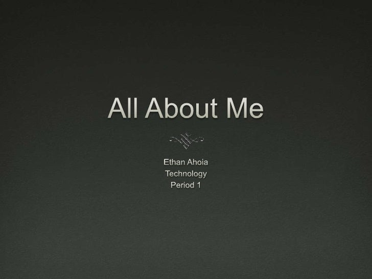 Ahoia autobiography presentation