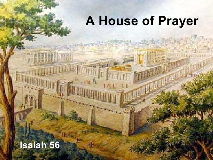 A House Of Prayer
