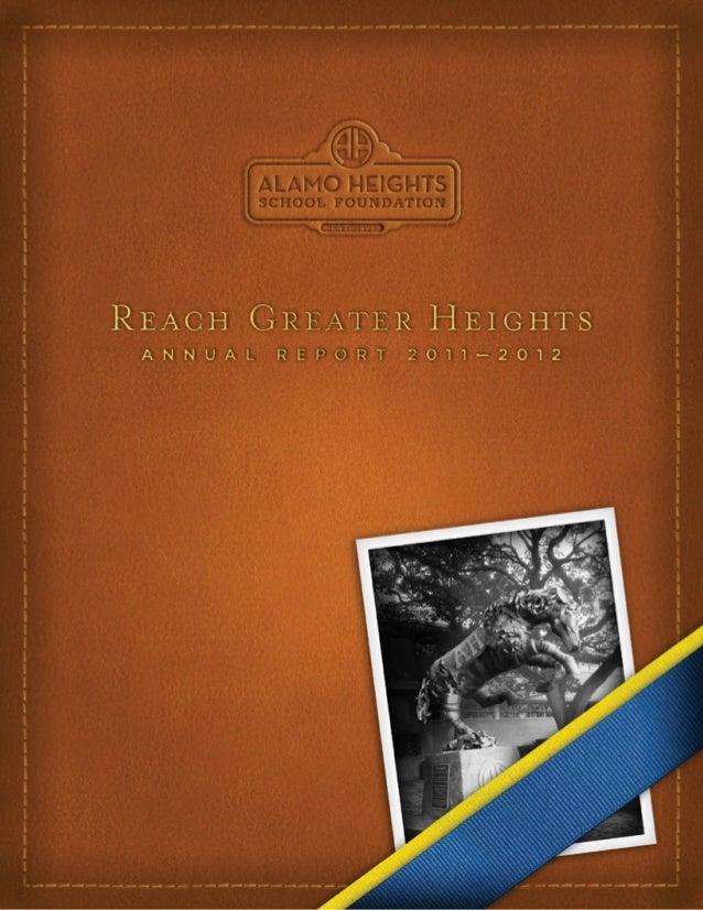 AHSF Annual Report
