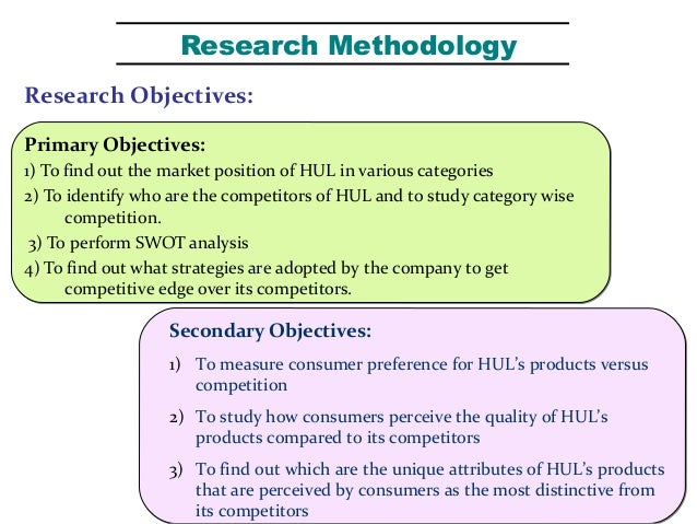 objectives of hul Essays - largest database of quality sample essays and research papers on objectives of hindustan unilever ltd.