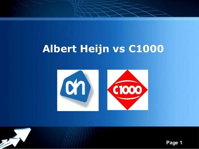 Albert Heijn vs C1000