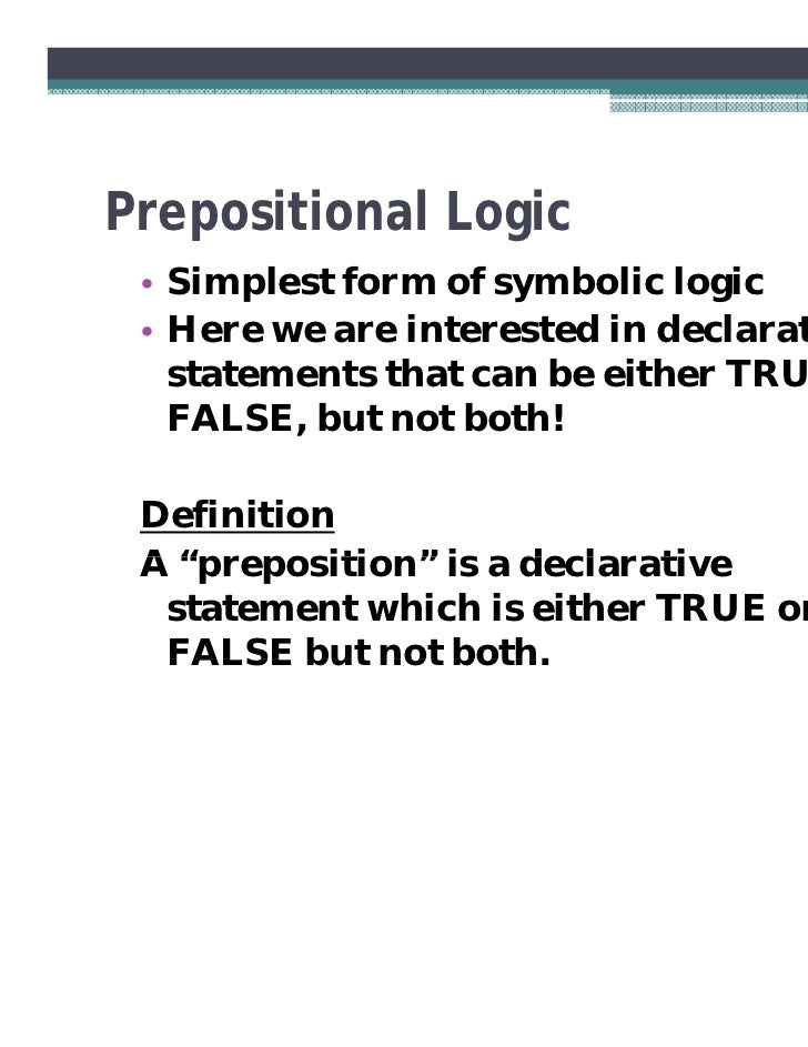 Understanding Symbolic Logic Images